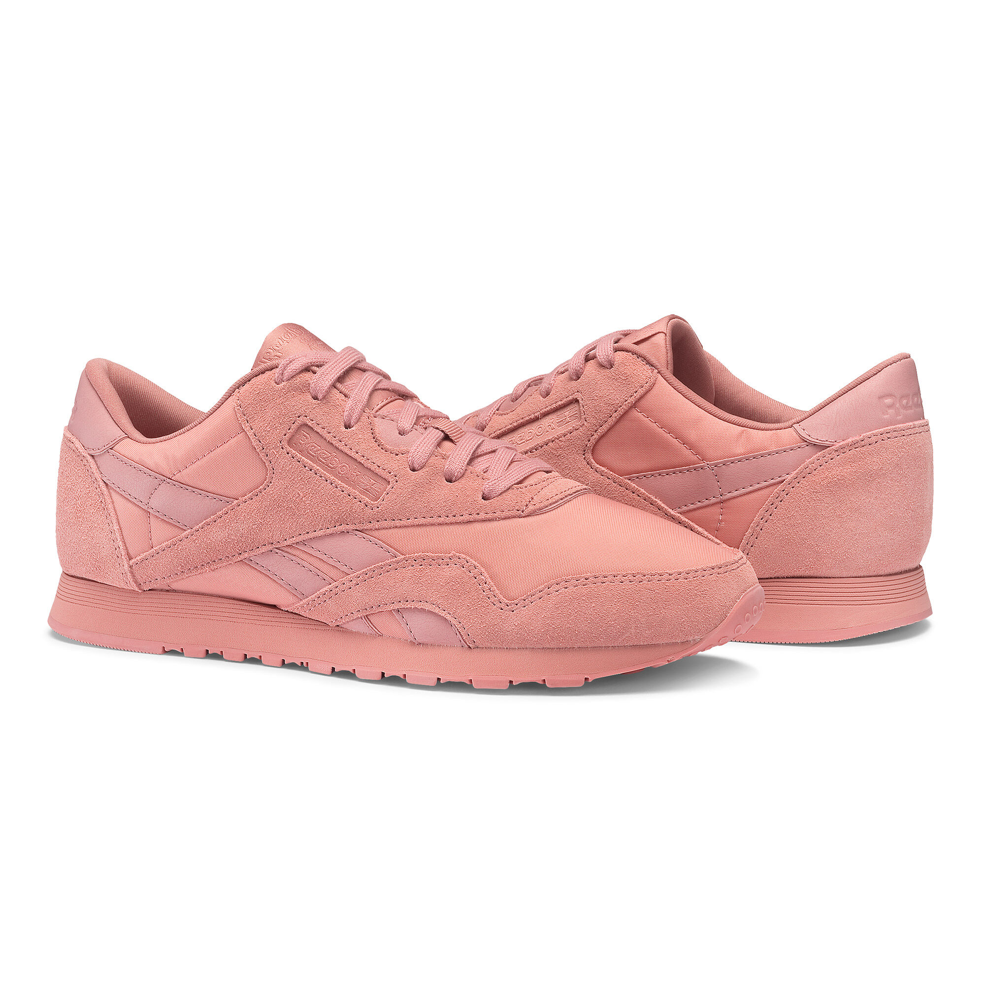REEBOK Classic suede trainers Sandy rose mono - H8509
