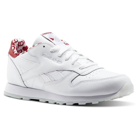 Reebok - Classic Leather Valentine's Day White/Power Red CM9191