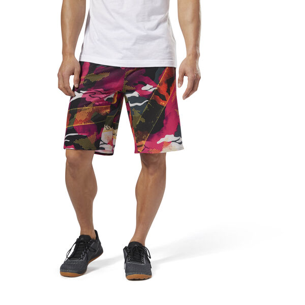 Reebok CrossFit EPIC Cordlock Shorts Red DN5461