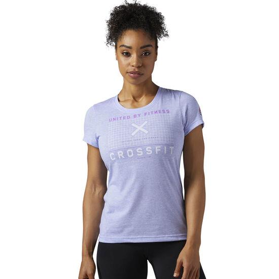 Reebok - Reebok CrossFit Poly-Blend Tee Lilac Glow BQ9836