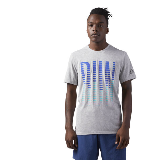 Reebok - Reebok Tee Light Grey Heather CD5673