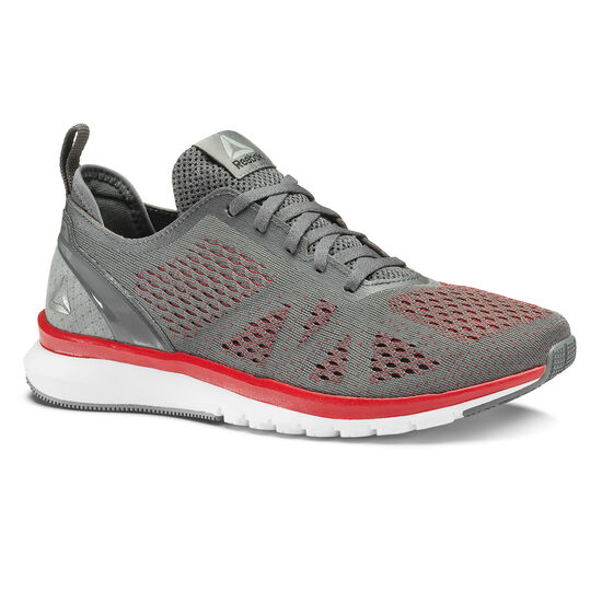 Reebok - Print Smooth Clip Ultraknit Alloy/Primal Red/White/Coal BS8575
