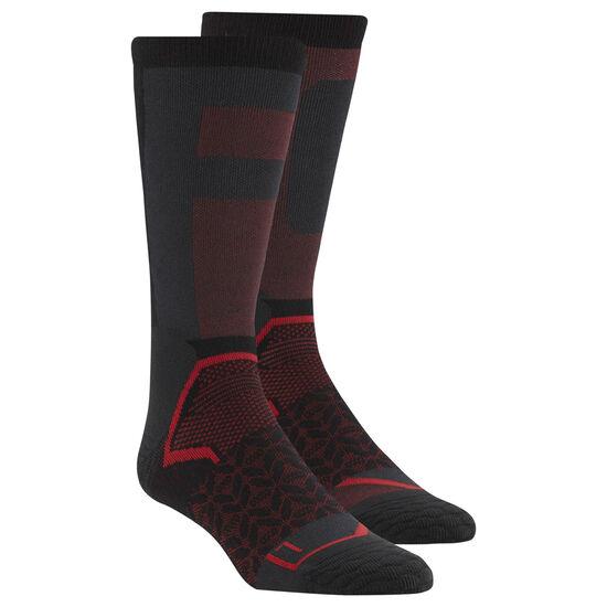 Reebok - Reebok CrossFit Crew Socks Black/Primal Red CD7289