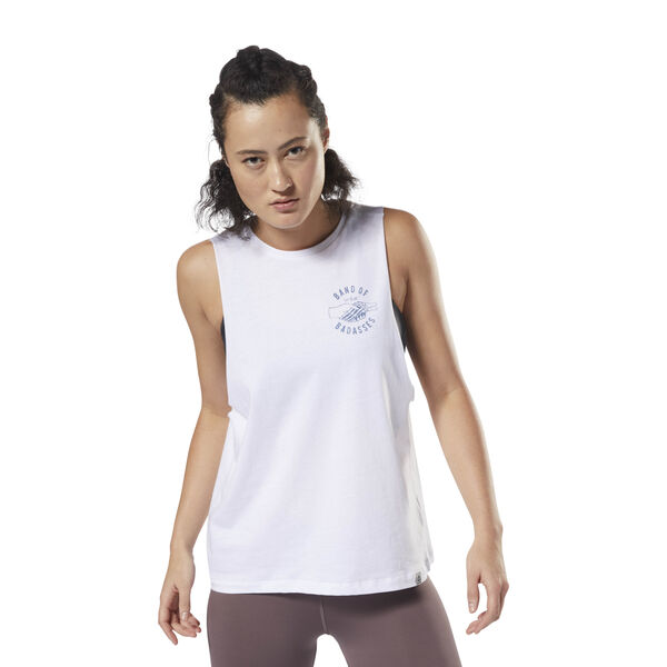 GS Badasses Muscle Tank White DH3748