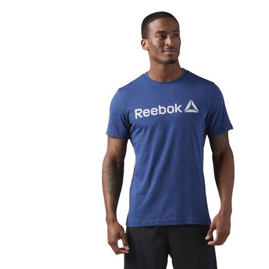 Reebok - Reebok Logo Tee Washed Blue CF3898