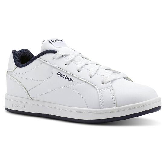 Reebok - Reebok Royal Complete Clean White/Collegiate Navy- No Texture Toe CN1719