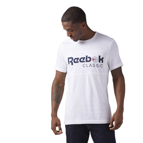 Reebok - Reebok Classics Iconic Tee White CE1844