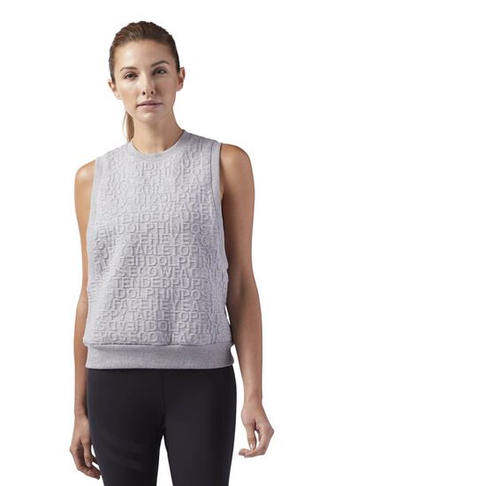 Reebok - Yoga Pose Tank Medium Grey Heather BR2801