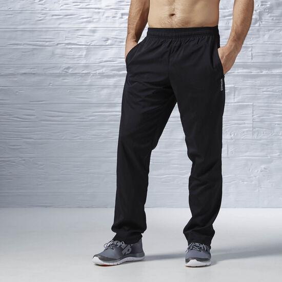 Reebok - Woven Lined Open Hem Pant Black/Black AJ3058