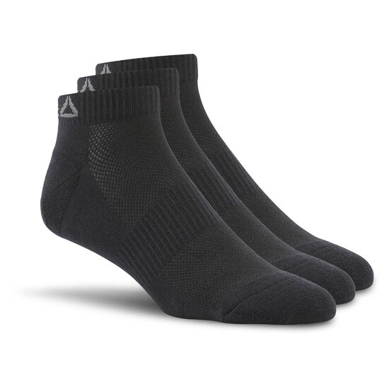 Reebok - Sport Essentials No Show Sock - 3pack Black AJ6239