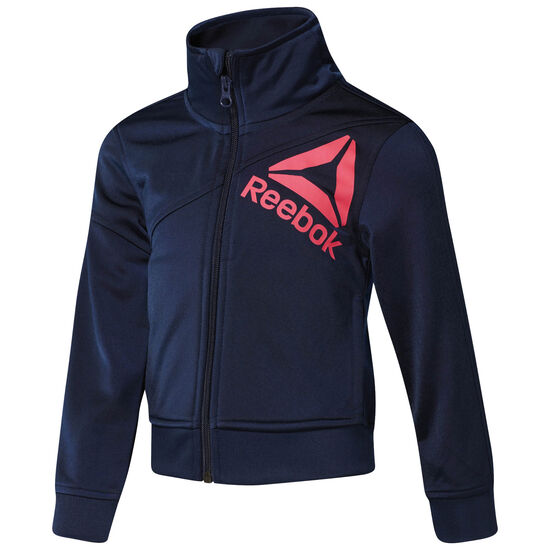 Reebok - Girl's Workout Ready Tracksuit Collegiate Navy/Collegiate Navy CG2170