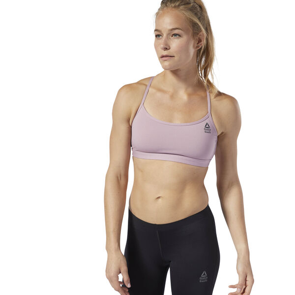 Reebok CrossFit Front Rack Sports Bra Purple D94954