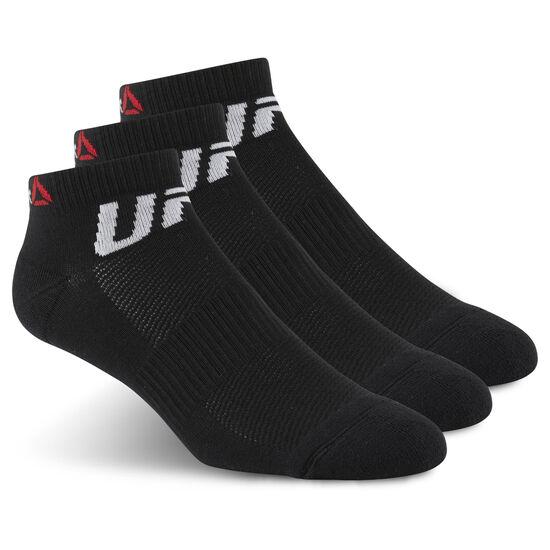 Reebok - UFC Fan Inside Sock Black/Black/Black AZ8791