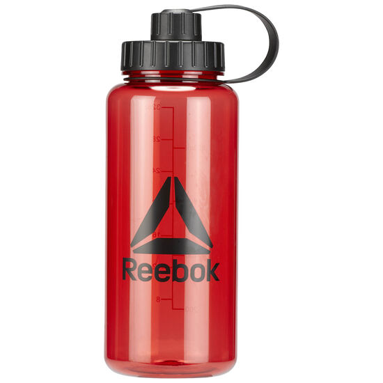 Reebok - Training Plastic Water Bottle 1L Excellent Red BR4946