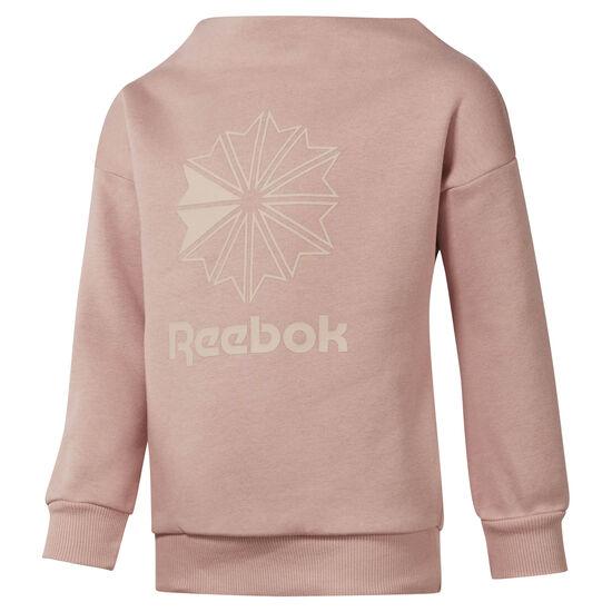 Reebok - Girls' Classics Crew Chalk Pink DH3230