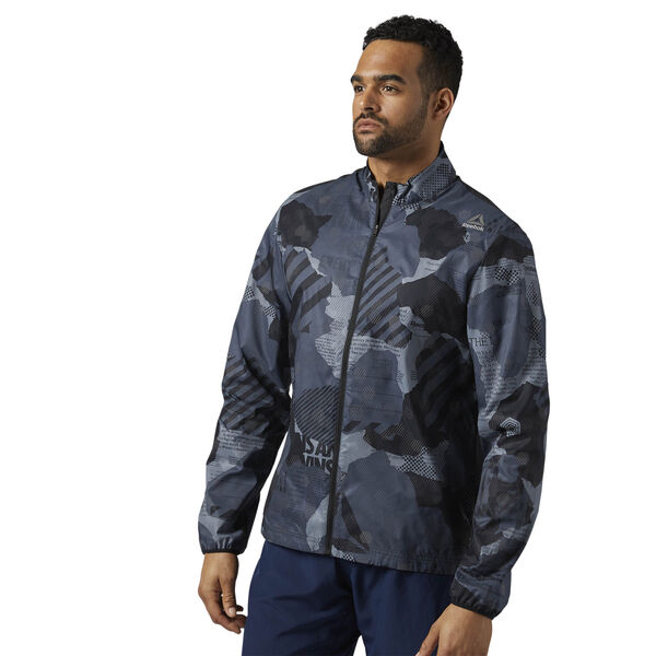 Running Reflective Jacket Grey BR4382