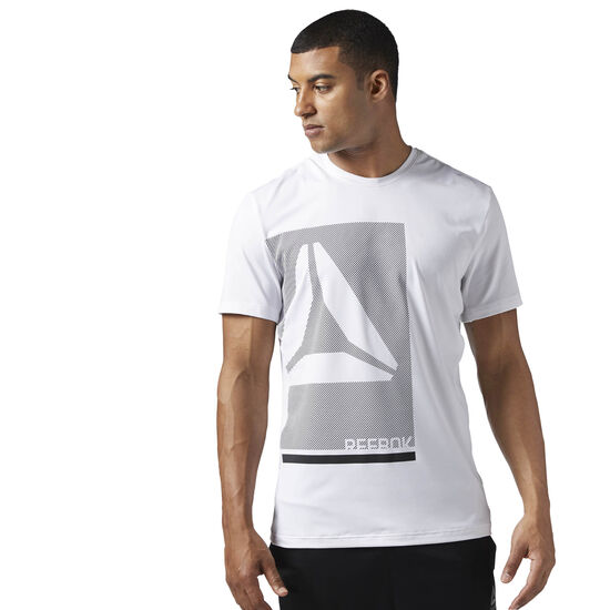 Reebok - Workout Ready Premium Graphic Tech Top White BQ3737