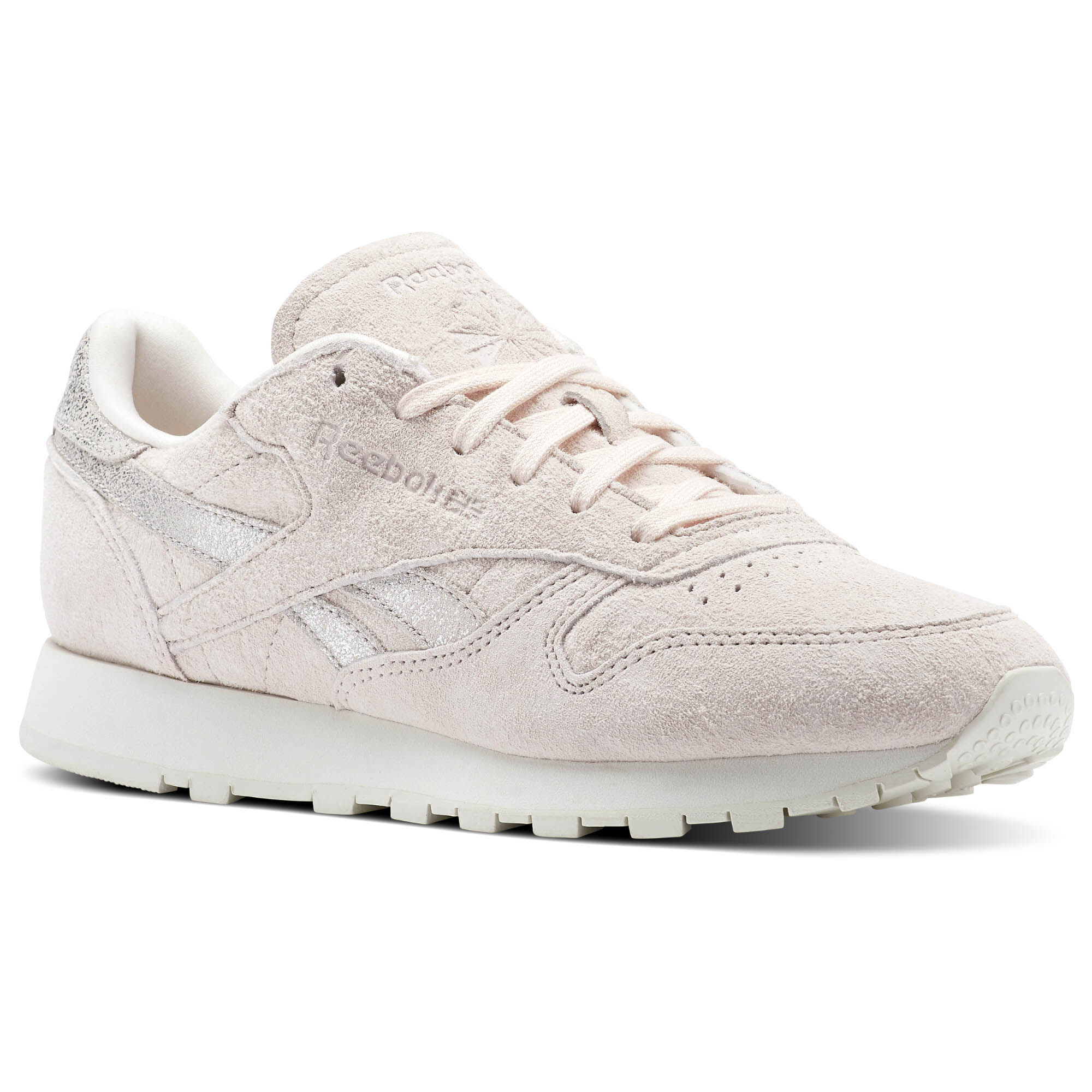 Reebok Classic CLASSIC LEATHER - Trainers - chalk