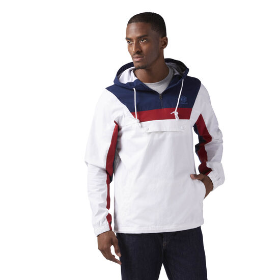 Reebok - Cotton Anorak Sweatshirt White CE5073