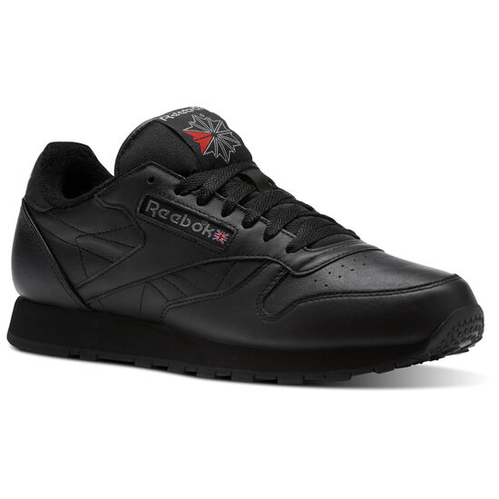 Reebok - Classic Leather ARCHIVE Black/Carbon/Red CM9671