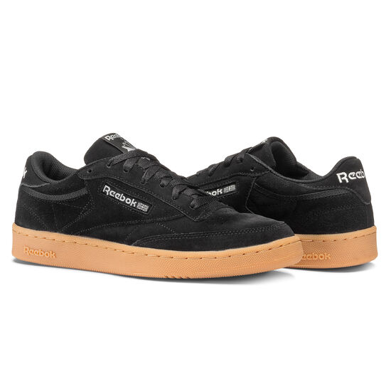 Reebok - Club C 85 GS Black/Skull Grey-Gum BS9735