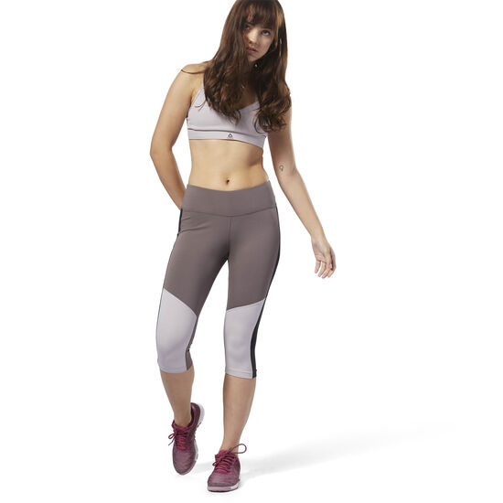 Reebok - Workout Ready Capri Almost Grey D95505