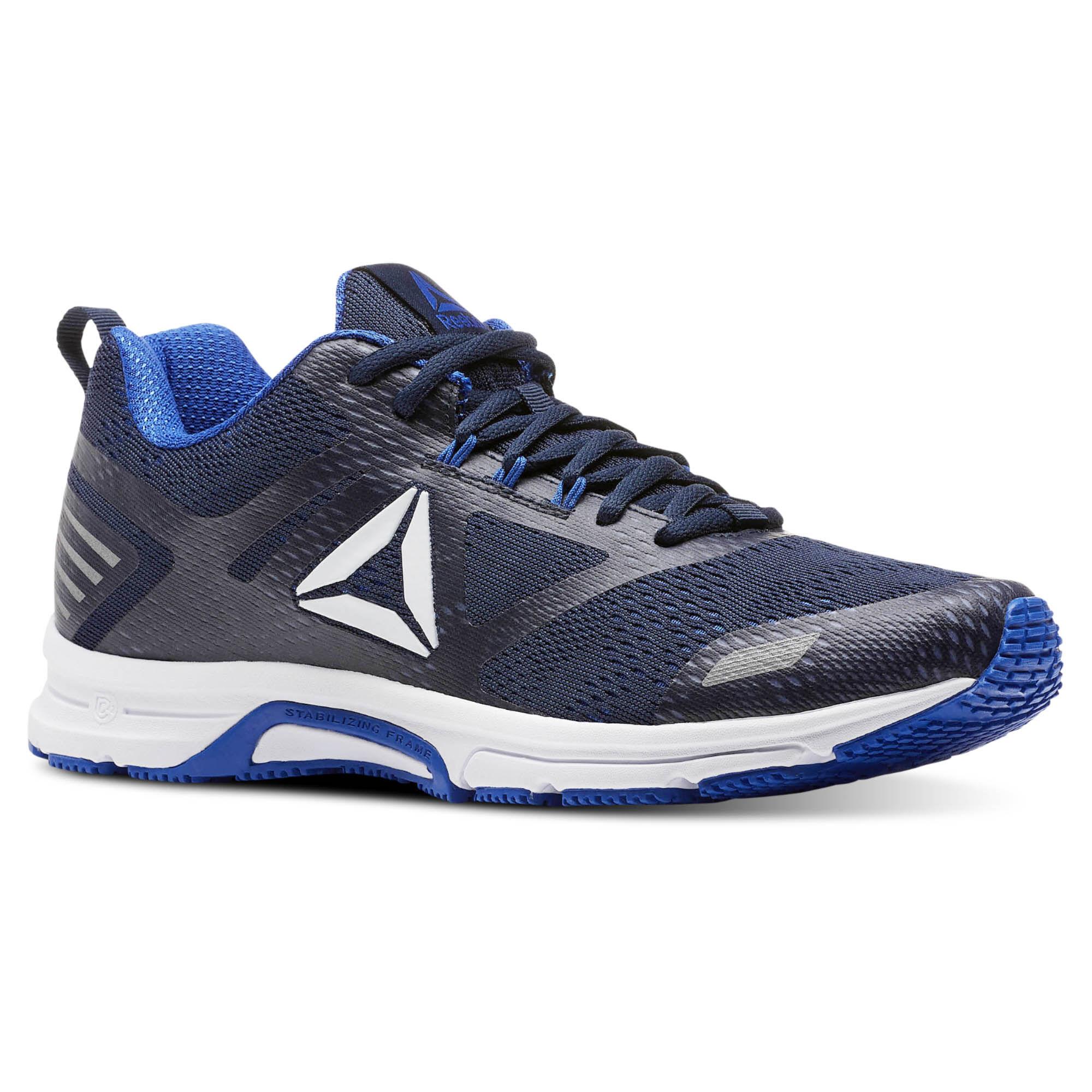Reebok AHARY RUNNER - Neutral running shoes - white/vital blue/collegiate navy QvWZTw
