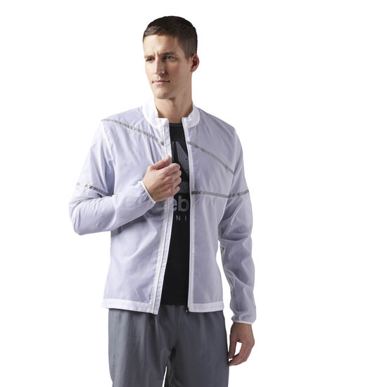 Reebok - Run Hero Jacket White CD5439
