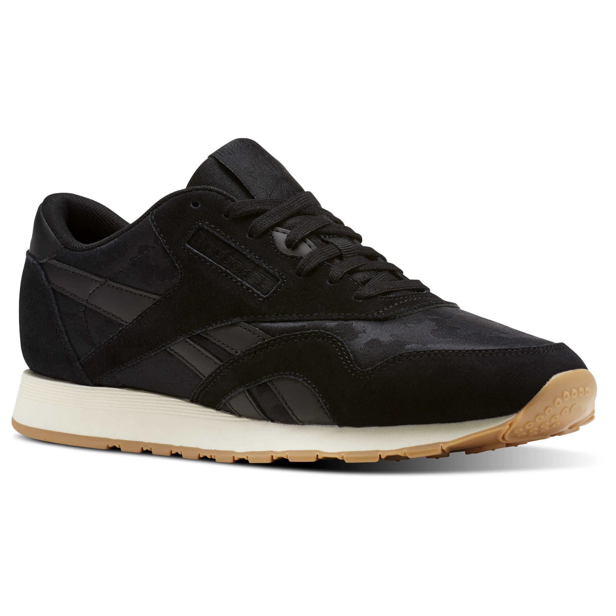 Reebok Men's Classic Leather Nylon Sg Sneaker o3hjz