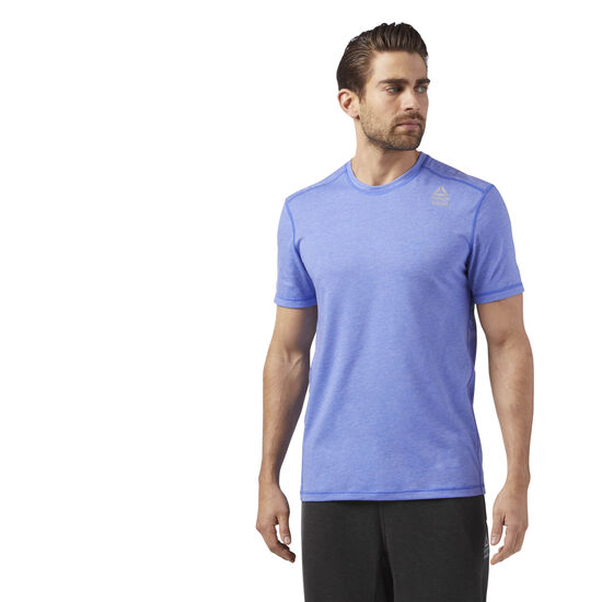 Reebok - Reebok CrossFit Burnout Tee Purple/Acid Blue CD4488