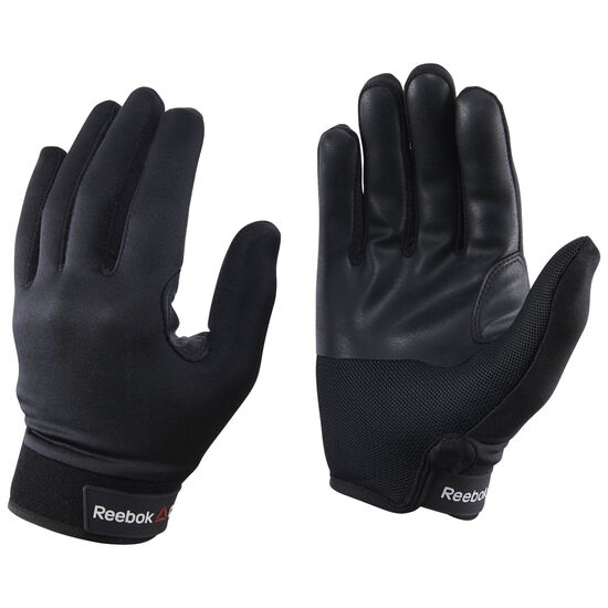 Reebok - Reebok CrossFit Grip Training Gloves Black/Black CD7268