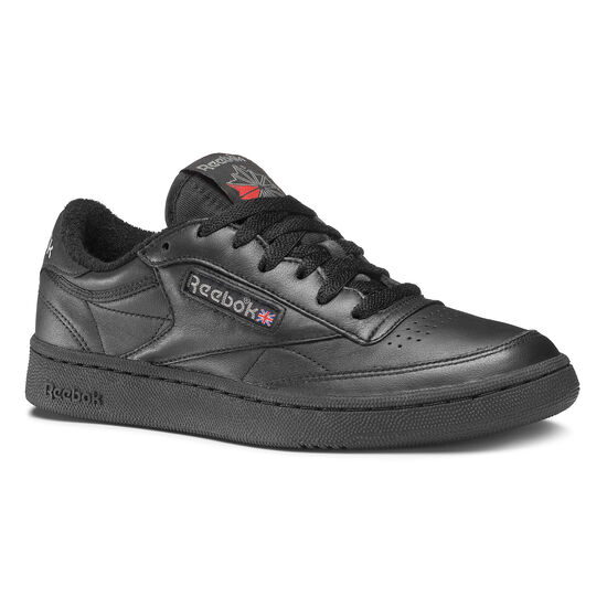 Reebok - Club C 85 Archive Black/Carbon/Excellent Red CN0647
