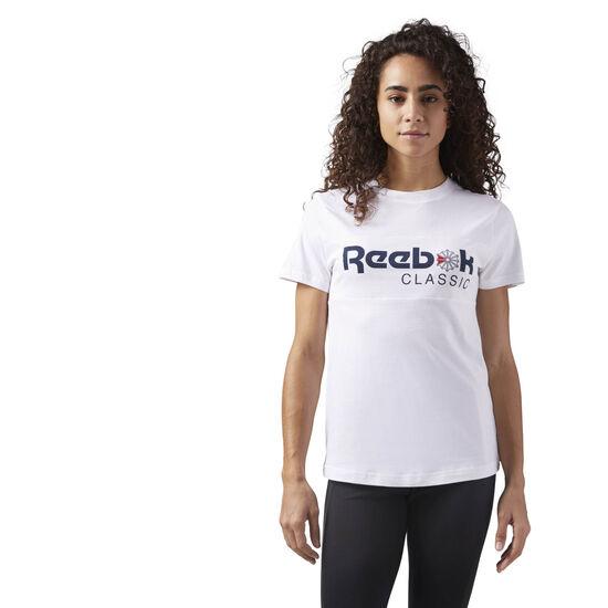Reebok - Reebok Classics Tee White/Collegiate Navy CD8251