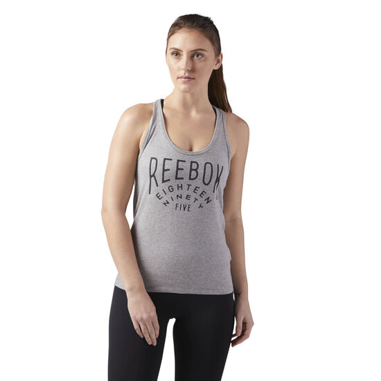 Reebok - Reebok Tank Medium Grey Heather CF4477