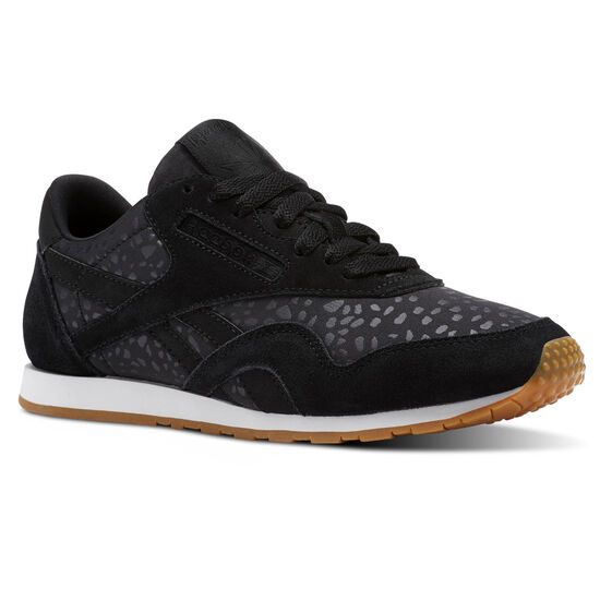 Reebok - Classic Nylon Slim Text Lux Black/White/Gum BS9448