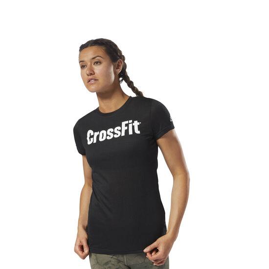 Reebok - Reebok CrossFit Speedwick F.E.F. Tee Black / White DH3712
