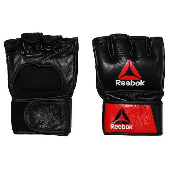 Reebok - Combat Leather MMA Glove - Small Black/Red BH7248