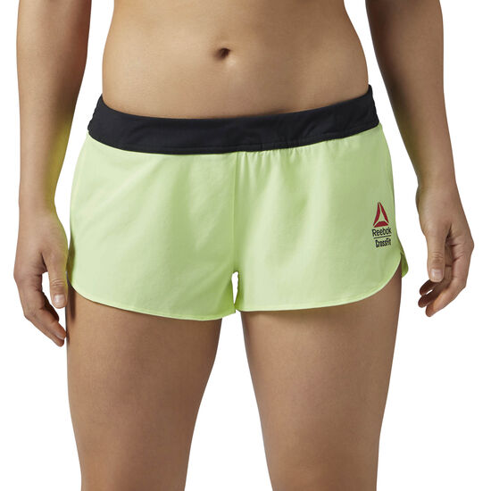 Reebok - Reebok CrossFit Knitted Woven 5 cms Shortie Electric Flash CD1415