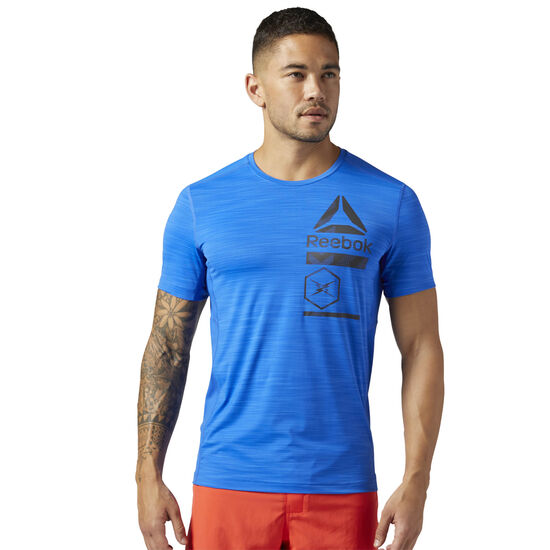 Reebok - ACTIVCHILL Zoned Graphic T-Shirt Vital Blue CE6492