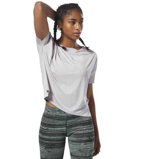 Reebok - Relaxed Women's T-Shirt Lavender Luck D94135