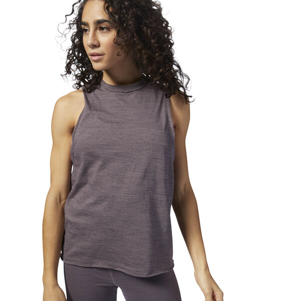 Training Essentials Marble Tank Grey CY3590