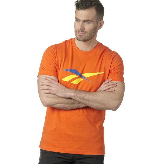 Reebok - LF 90S Print T-Shirt Orange/Bright Lava DN9810