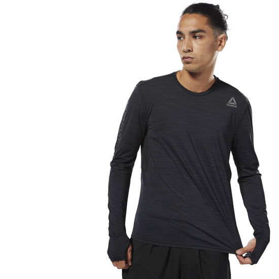Reebok - Running ACTIVCHILL Long Sleeve Tee Black CY4651