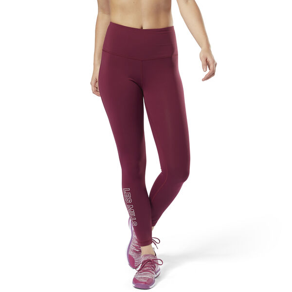 LES MILLS Lux High Rise Tights Purple DM2663
