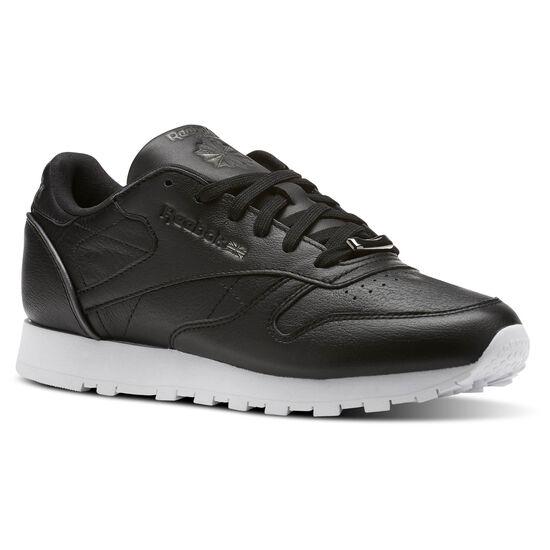 Reebok - Classic Leather HW Black/Silver Metallic/White BS9879