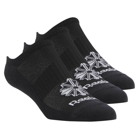 Reebok - Classic Footwear Invisible Sock - 3Pack Black CV8485