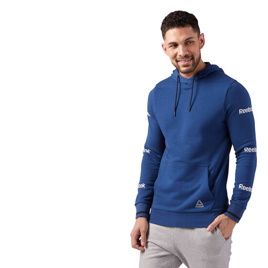 Reebok - Graphic Hoodie Washed Blue CE4767