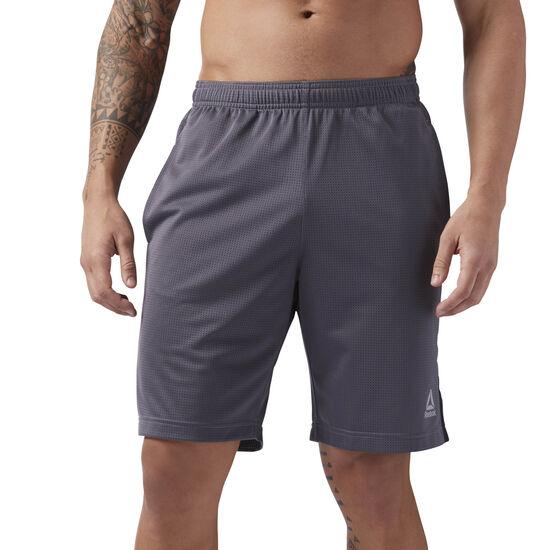 Reebok - Mesh Workout Shorts Ash Grey CE3909