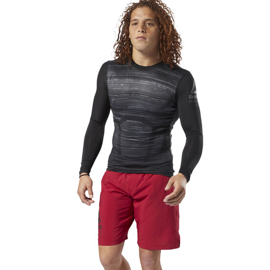 Reebok - ACTIVCHILL Long Sleeve Compression Tee Black CY4888