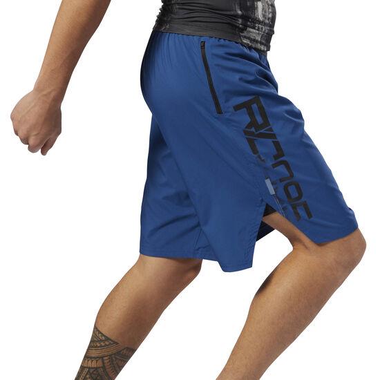 Reebok - Combat Boxing Shorts Bunker Blue CY9978